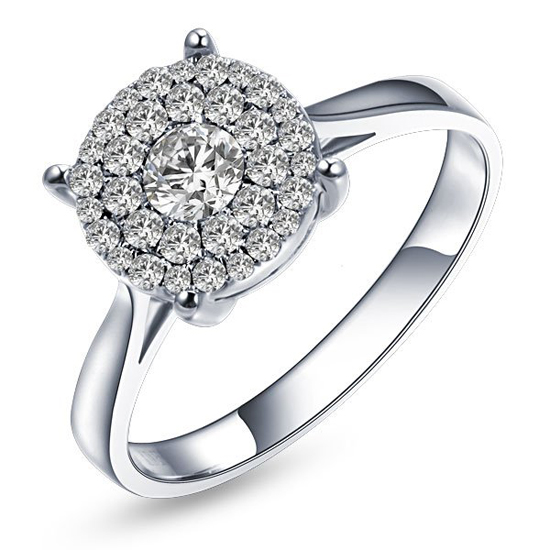 lady ring diamond jewelry