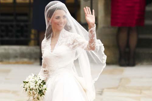 tiara veil wedding bride -Kate